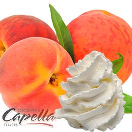 Ароматизатор Peaches and Cream v2 (Персик со сливками), Capella Flavors USA, 5 мл