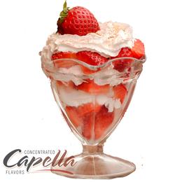 Ароматизатор Strawberries and Cream (Клубника со сливками), Capella Flavors USA, 5 мл