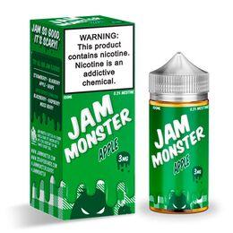 Apple, 3 мг. Jam Monster. 100 мл