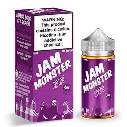 Grape, 3 мг. Jam Monster. 100 мл