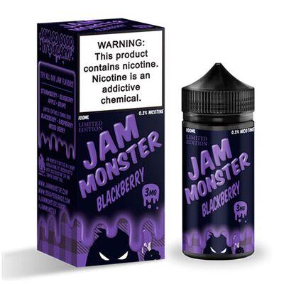 Blackberry, 3 мг. Jam Monster. 100 мл