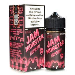 Raspberry, 3 мг. Jam Monster. 100 мл