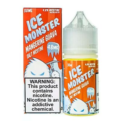 SALT Mangerine Guava, 48 мг (Солевой никотин). ICE Monster - 30 мл