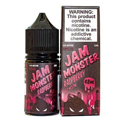 SALT Raspberry, 48 мг (Солевой никотин). JAM Monster - 30 мл
