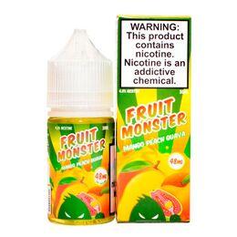 SALT Mango Peach Guava, 48 мг (Солевой никотин). FRUIT Monster - 30 мл