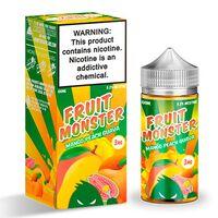 Mango Peach Guava, 3 мг. FRUIT Monster. 100 мл