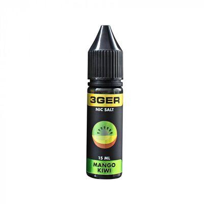 MANGO KIWI, 50 мг (Солевой никотин). 3Ger. 15 мл