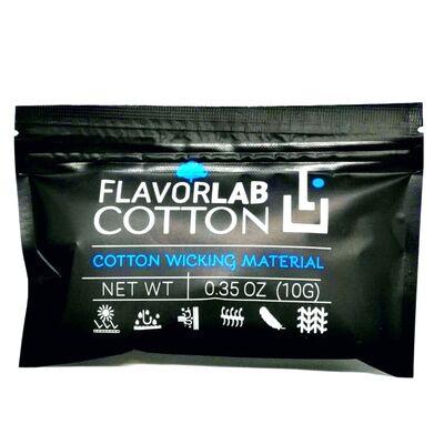 Органический коттон Flavor Lab Cotton. вата для пермотки. 0.35 Oz (10 грамм.)