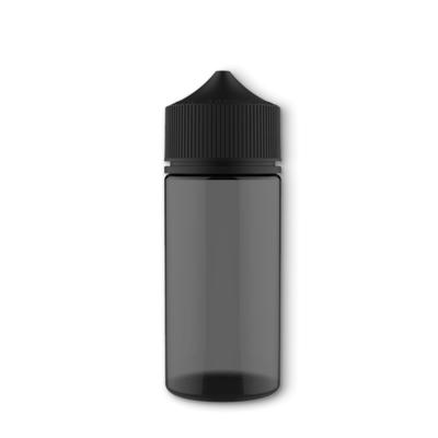 Бутылочка Unicorn Chubby V3, PET, 100 мл, Полностью черная