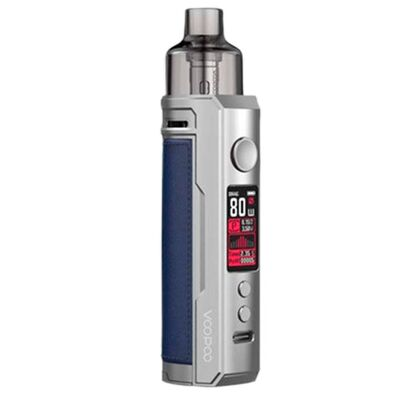 Электронная сигарета VooPoo Drag X, Pod kit, Watt, 4.5 ml. Silver Blue