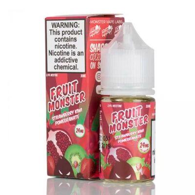 SALT Strawberry Kiwi Pomegranate, 24 мг (Солевой никотин). FRUIT Monster - 30 m