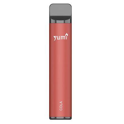 Одноразовая электронная сигарета Yumi. Cola 1500 Puffs   50mg 850mAh