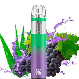 Одноразовая электронная сигарета OVNS Aloe Grape 2200 Puffs 20mg