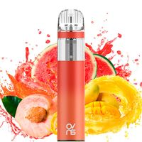 Одноразовая электронная сигарета OVNS Peach Mango Watermelon 2200 Puffs 20 mg