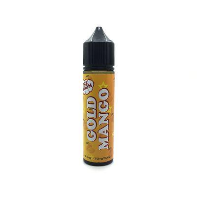 Gold Mango, 0 мг (без никотина). Ice Boom. 60 мл.