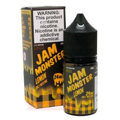 SALT Lemon, 24 мг (Солевой никотин). JAM Monster - 30 мл