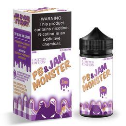 Peanut Butter, 3 мг. Jam Monster. 100 мл