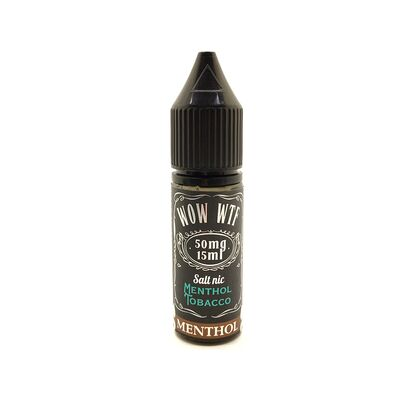 Menthol-Tobacco SALT, 50 мг (Солевой никотин). WTF. 15 мл.