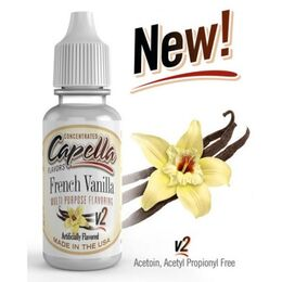 Ароматизатор French Vanilla V2 (Французкая ваниль), Capella Flavors USA, пробник 1 мл