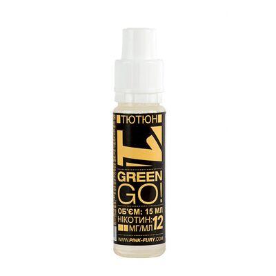 GREEN GO, 0 мг (Без никотина). Pink-Fury. Польша. 15 мл.