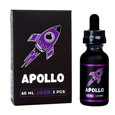Apollo, 0 мг (Без никотина). 3Ger. 30 мл.