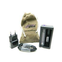Зарядное устройство для аккумуляторов Efest Xsmart USB, с функцией Power Bank