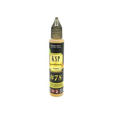 Заправочная жидкость #78, 1 мг (Ультралегкая). KSP. 30 мл.