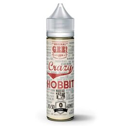 Crazy Hobbit, 0 мг (Без никотина). Gee. 60 мл.