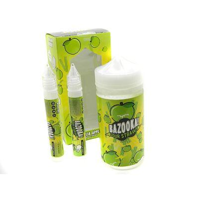 Green Apple Sour Straws, 6 мг (Лёгкая). Bazooka Vape. 200 мл.