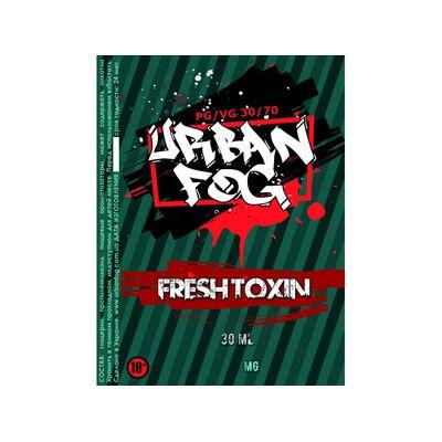 Fresh Toxin, 1.5 мг (Ультралегкая). Urban Fog. 30 мл.