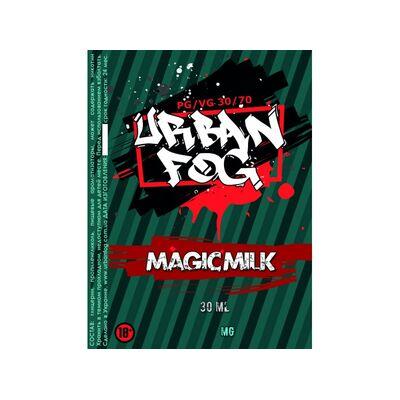 Magic Milk, 0 мг (Без никотина). Urban Fog. 30 мл.