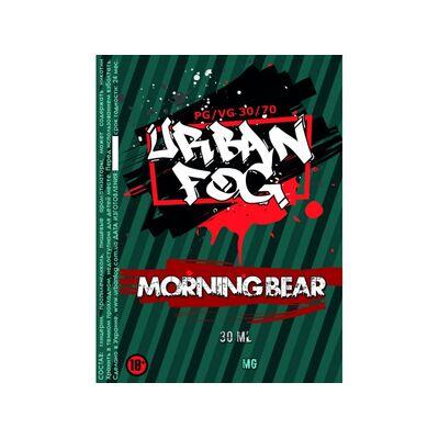 Morning Bear, 3 мг (Ультралегкая). Urban Fog. 30 мл.