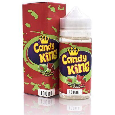Strawberry Watermelon, 3 мг (Ультралегкая). Candy King. 100 мл.