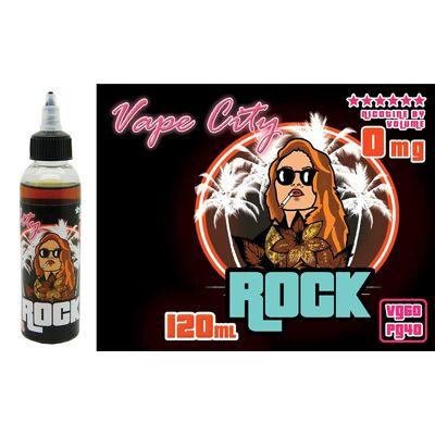 Rock, 0 мг (Без никотина). Vape City Club. 120 мл.