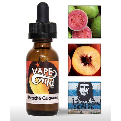 Peache Guavara, 0 мг (Без никотина). VapeWild Pre-Steeped. 30 мл.