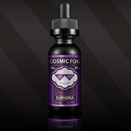 Euphoria, 0 мг (Без никотина). Cosmic Fog . 30 мл.