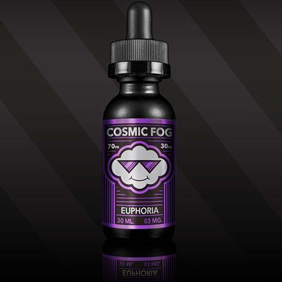 Euphoria, 0 мг (Без никотина). Cosmic Fog. 30 мл.