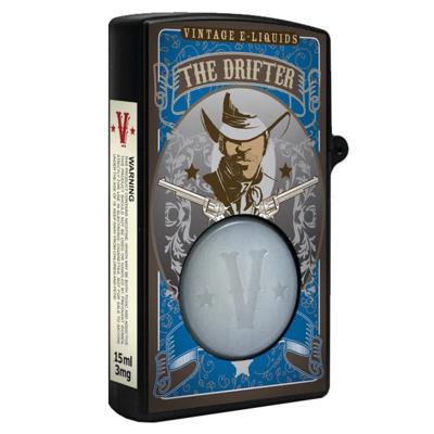 The Drifter, 3 мг (Ультралегкая). Vintage E-Liquids. 15 мл.