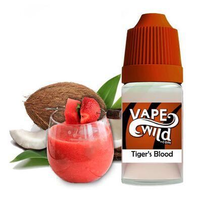 Tiger's Blood, 0 мг (Без никотина). High VG, VapeWild. 30 мл.