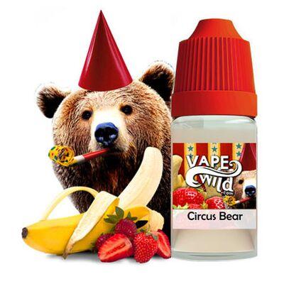 Circus Bear, 0 мг (Без никотина). High VG, VapeWild. 30 мл.