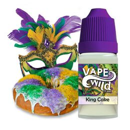 King Cake, 0 мг (Без никотина). High VG, VapeWild. 30 мл.