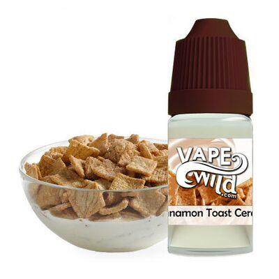 Cinnamon Toast Cereal, 0 мг (Без никотина). High VG, VapeWild. 30 мл.