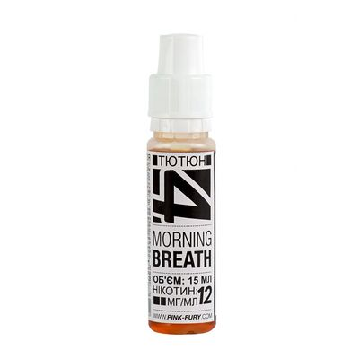MORNING BREATH, 0 мг (Без никотина). Pink-Fury. Польша. 15 мл.