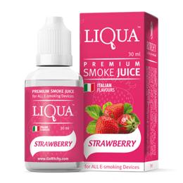 Клубника, 0 мг (Без никотина). Liqua. 30 мл.