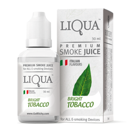 Bright Tobacco, 0 мг (Без никотина). Liqua. 30 мл.