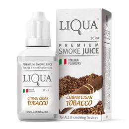 Кубинская Сигара, 0 мг (Без никотина). Liqua. 30 мл.
