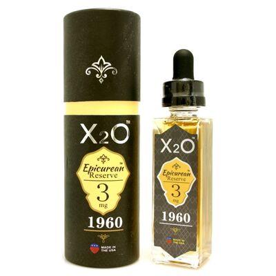 X2O - Epicurean Reserve 1960, 3 мг (Ультралегкая). Клон 30 мл.