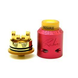 Обслуживаемый атомайзер для дрипа Desire Rabies RDA, Красный