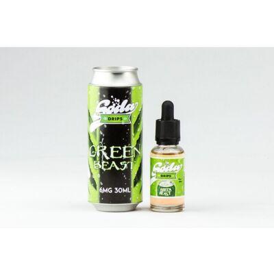 Green Beast, 3 мг (Ультралегкая) Soda Drips. 60 мл.
