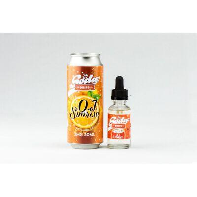 OJ Sunrise, 3 мг (Ультралегкая) Soda Drips. 60 мл.